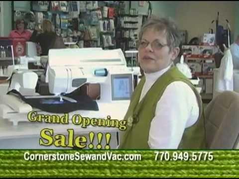 Cornerstone Sew And Vac Grand Opening