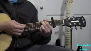 Galway girl Ed Sheeran| guitar tutorial (EASY)