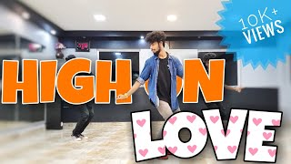 High On Love | Pyaar Prema Kaadhal | Dance And Tutorial | Choreography By Jobin | The Dance Hype