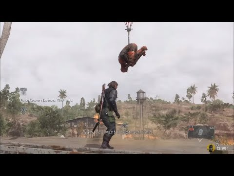 Beating The Man on Fire with Fulton Recovery - Mission 20 - Metal Gear Solid V: The Phantom Pain