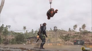 Fulton Extracting The Man on Fire - Mission 20 - Metal Gear Solid V: The Phantom Pain