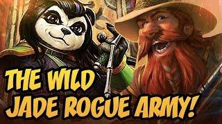 The Wild Jade Rogue Army! | Rastakhan's Rumble | Hearthstone