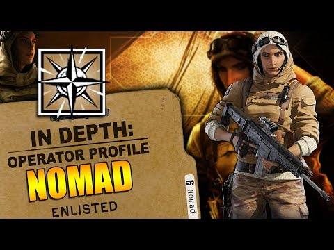 Rainbow Six Siege - In Depth: HOW TO USE NOMAD - OPERATOR PROFILE - TIPS AND TRICKS