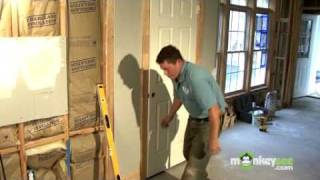Build A Closet - Installing The Door