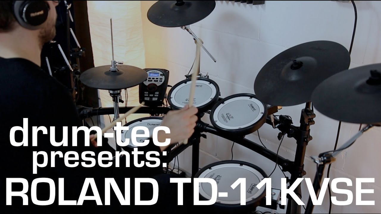 Roland TD-11KV-S Electronic Drum Set [Product Demonstration] - YouTube