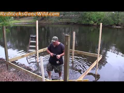 Building a Dock Part 2