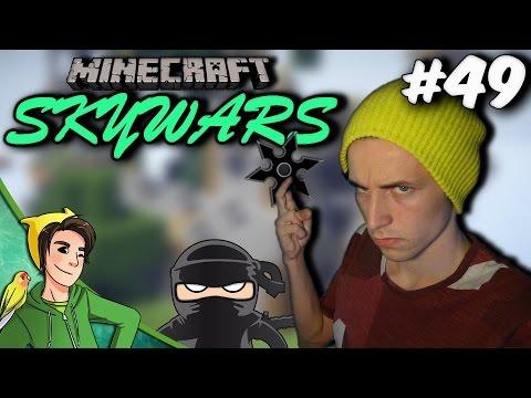 NINJA TEAM! - Minecraft SkyWars [Ft. JoostSpeeltSpellen & AltijdCompilaties]