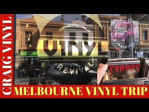 Vinyl Record Store Shopping Video - Melbourne Stores Walkthrough