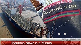 CMA CGM Delivers The VASCO DE GAMA