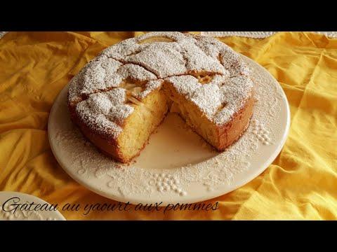 gÂteau-au-yaourt-aux-pommes-moelleux,-recette-facile