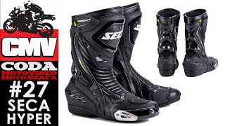 SECA HYPER - buty motocyklowe - Moto Szafa #26 - CODA MV