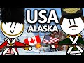 WHY IS ALASKA A PART OF THE USA AND NOT CANADA?