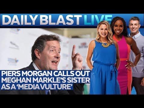 Piers Morgan Slams Samantha Markle on TV!