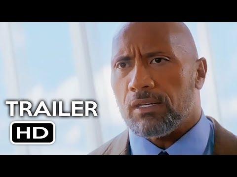 Skyscraper    1 2018 Dwayne Johnson, Pablo Schreiber Action Movie HD