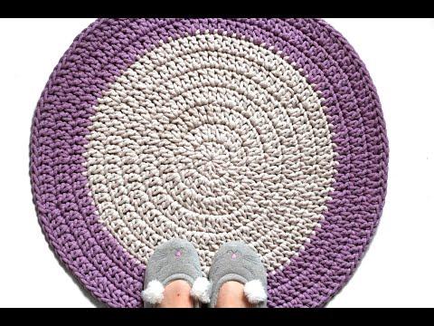 Как правильно связать коврик