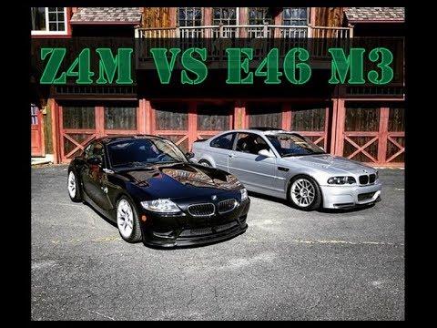 BMW Z4M vs E46 M3 - GQM Review