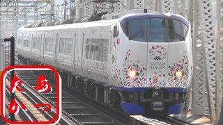 【カッコ可愛い ハローキティ はるか 281系】関空特急はるか JR西日本281系電車
