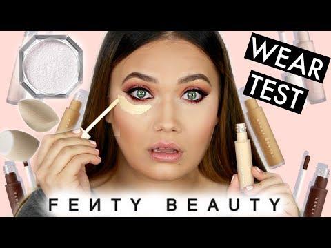 FENTY BEAUTY Concealer + Setting Powder WEAR TEST