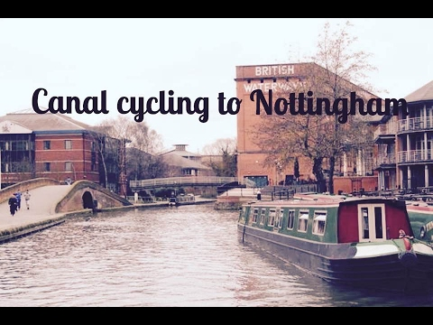 Canal Cycling To Nottingham