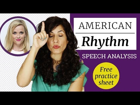 How to sound like Reese Witherspoon | American Rhythm And Intonation  In-Depth Speech Analysis