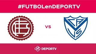 Lanús vs Velez Sarsfield full match