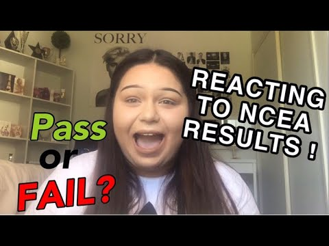 REACTING TO MY LEVEL 1 NCEA RESULTS