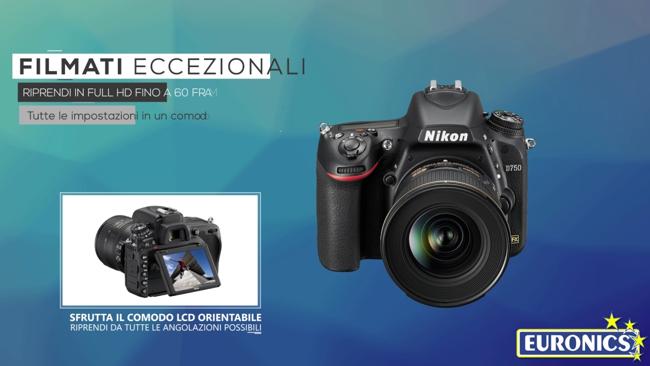 ee82828eec NIKON D750 + Nikkor 24-120 f4/G EDVR + Lexar SD 400x 8GB Black | Euronics