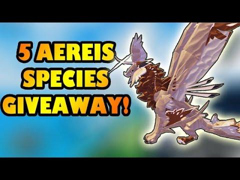 Download 5 AEREIS SPECIES GIVEAWAY - Creatures of Sonaria [Part 2]