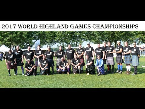 The 2017 World Highland Games...