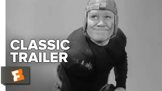 Knute Rockne - All American (1940) Official Trailer - Ronald Reagan Sports Biography Movie HD