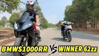 Winner Độ 62zz Hổ Báo Gạ Đua BMW S1000rr Và Cái Kết