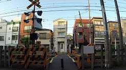 일본 전철 지나가는 소리 ASMR