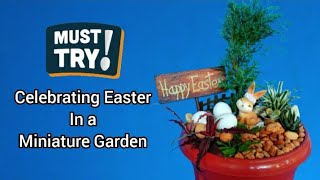 This video gives you a step-by-step guide on how to make a unique indoor or outdoor decoration. Celebrating Easter through a miniature garden can change ...