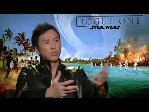 Donnie Yen (³Chirrut²)(IP Man) Interview for STAR WARS ROGUE ONE