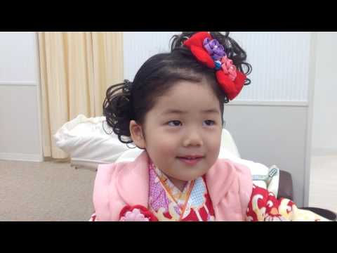 Cute Japanese girl wearing a kimono