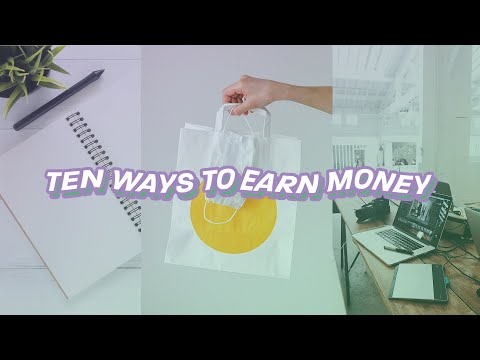 10 side hustle ideas 💸 for teens, from home, & not scams lmao