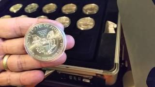 American Silver Eagle full set 1986-2014
