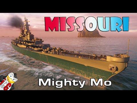 World of Warships - Missouri - Mighty Mo