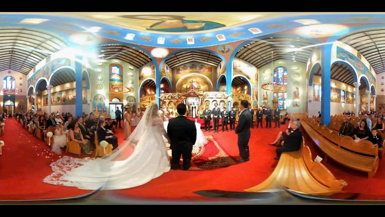 Vr 360 Wedding Ceremony: Nicole & Tim's Greek Wedding Ceremony 360 Video
