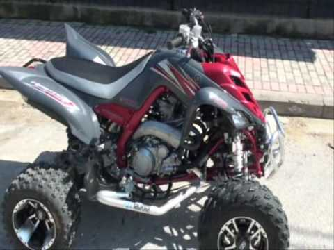 yamaha raptor 700r se 2008 atv - YouTube