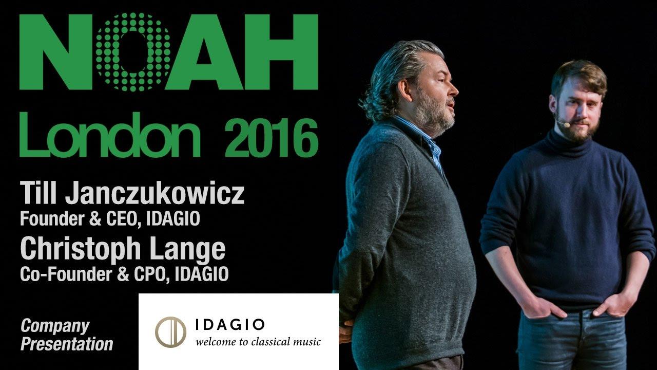 IDAGIO - NOAH16 London