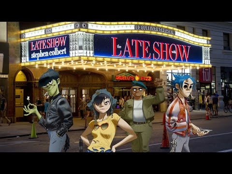 The Late Show Presents: Bonus Tracks, Gorillaz Edition