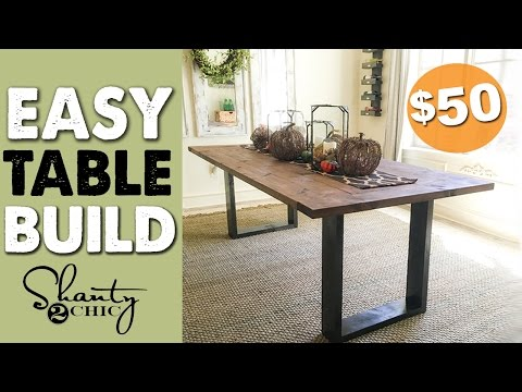 $50 Thanksgiving Dining Table | Shanty2Chic