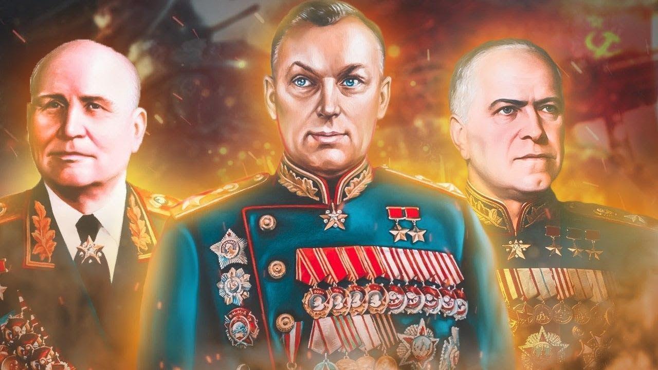 Великие российские полководцы военачальники фото