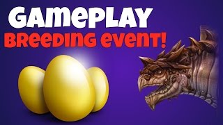 War Dragons - Gameplay Breeding event
