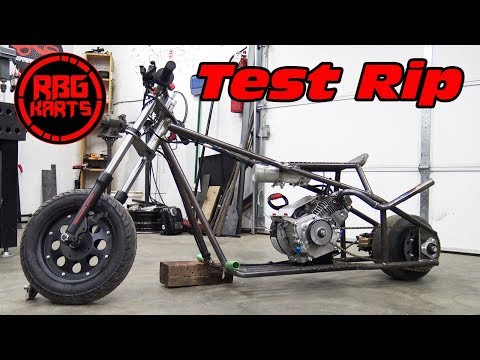 Drag Mini Bike Ep3 ~ Test Ride