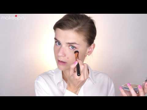 Как правильно нанести пудру на лицо