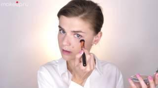 Как наносить пудру на лицо? Видеоурок