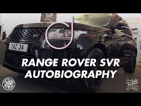 RANGE ROVER SVR AUTOBIOGRAPHY BY OFFSET DETAILING ESSEX