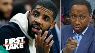Kyrie Irving is not the problem with the Celtics – Stephen A. | First Take